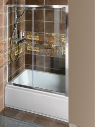 POLYSAN - DEEP sprchové dvere posuvné 1100x1500mm, číre sklo (MD1115)