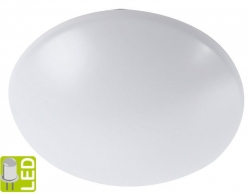 SAPHO - MORAVA stropné LED svietidlo 18W, 230V, biela (AU456)