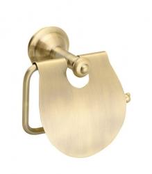 SAPHO - ASTOR držiak toaletného papiera s krytom, bronz (1326-17)