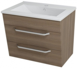 SAPHO - KALI umývadlová skrinka 59x50x46cm, orech bruno (56063)