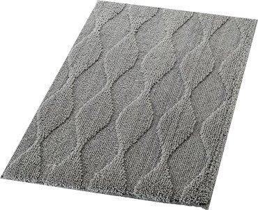 RIDDER - ORIENT predložka 55x50cm s protišmykom, polyester, šedá (724807)