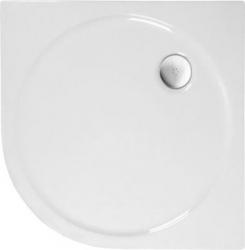 POLYSAN - SONATA sprchová sprchová vanička akrylátová, štvrťkruh 100x100cm, R500, biela (58411)