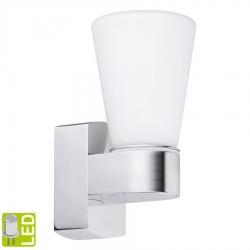 SAPHO - CAILIN nástenné svietidlo G9-LED, 1x2,5W, 230V, IP44, chróm (94988)