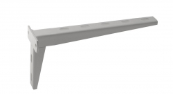 SAPHO - Konzola 30cm, biela (30383)