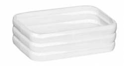 AQUALINE - GLADY mydeľnička na postavenie, biela (GL1102)