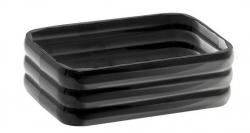 AQUALINE - GLADY mydeľnička na postavenie, čierna (GL1114)