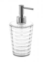 AQUALINE - GLADY dávkovač mydla na postavenie, číra (GL8000)
