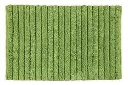 AQUALINE - BOMBAY Kúpeľňová predložka, 50x80 cm, 100% bavlna, protišmyk, zelená (BO508004)