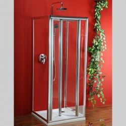GELCO - Sigma trojstenný štvorcový sprchovací kút 800x800x800mm L/P varianta,číre sklo (SG1828SG1568SG1568)