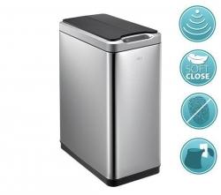 SAPHO - PHANTOM odpadkový koš senzorový 20l, Soft Close, brúsená nerez (DR420)