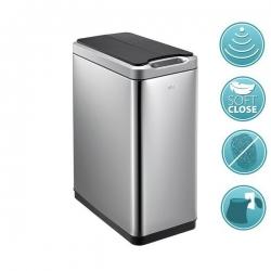 SAPHO - PHANTOM odpadkový koš senzorový 30l, Soft Close, brúsená nerez (DR430)
