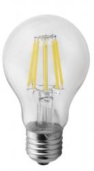 Sapho Led - LED žiarovka Filament 8W, E27, 230V, denná biela, 1000lm (LDF278)