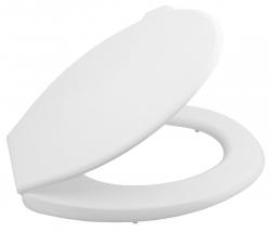 AQUALINE - WC sedátko, polypropylen, biela (ATYPST262)