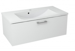 SAPHO - MAKALA umývadlová skrinka 89,5x35x45,2 cm, biela (ML090)