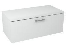 SAPHO - MAKALA skrinka s vrchnou doskou 89,5x35x45,2 cm, biela (ML095)