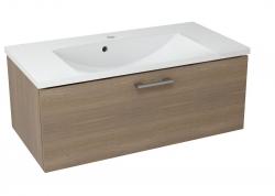 SAPHO - MAKALA umývadlová skrinka 89,5x35x45,2 cm, orech bruno (ML093)