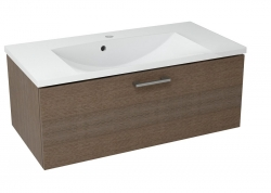 SAPHO - MAKALA umývadlová skrinka 89,5x35x45,2 cm, borovica rustik (ML092)