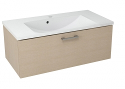 SAPHO - MAKALA umývadlová skrinka 89,5x35x45,2 cm, dub benátsky (ML094)