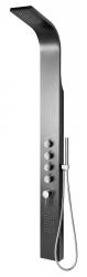 SAPHO - MESA sprchový panel 150x1680mm, čierna (WN853)