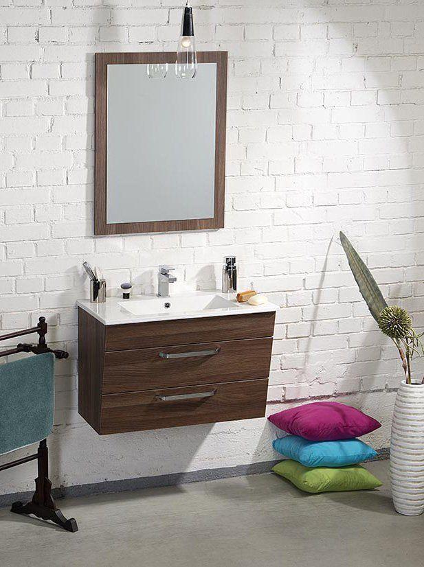 SAPHO - Kúpeľňový set KALI 75, orech bruno KSET-005