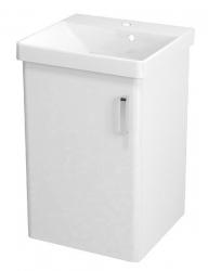 SAPHO - THEIA umývadlová skrinka 46,4x70x44,2cm, 1xdvierka,biela (TH051)