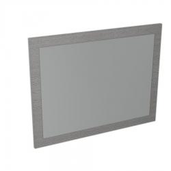SAPHO - LARGO zrkadlo v ráme 700x900x28mm, dub strieborný (LA711)