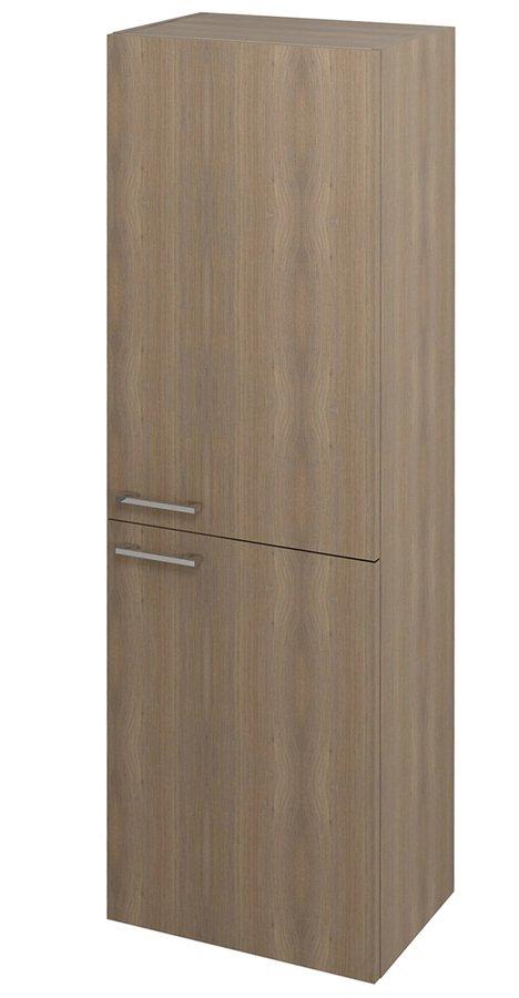 SAPHO - ESPACE skrinka 50x172x32cm, 2x dvierka, ľavá/pravá, orech bruno (ESP454LP)