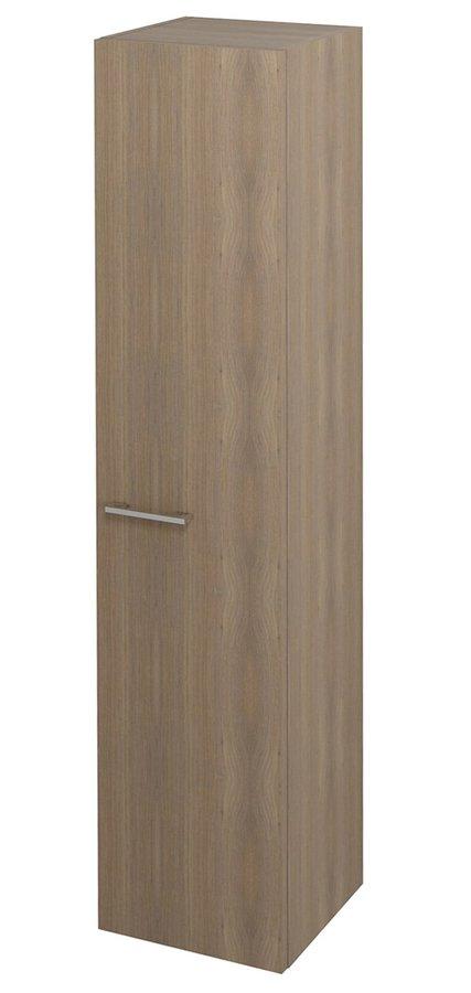 SAPHO - ESPACE skrinka 35x172x32cm, 1x dvierka, ľavá/pravá, orech bruno (ESP334LP)