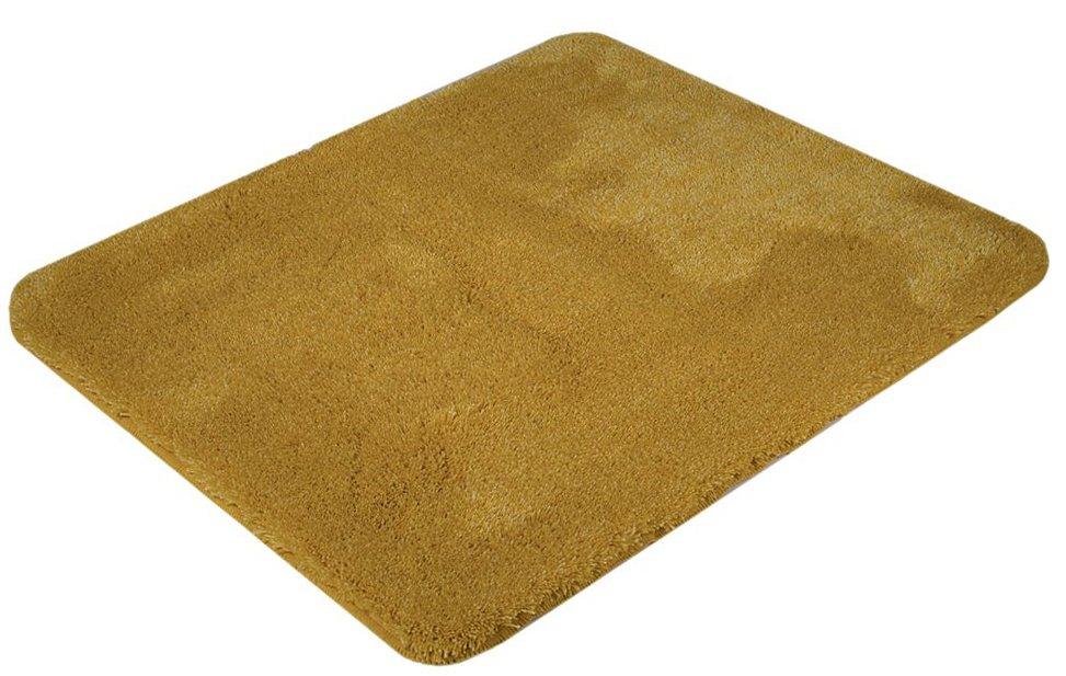 SAPHO - SAVANA predložka 50x60cm s protišmykom, akryl, zlatožltá (SU3-569)