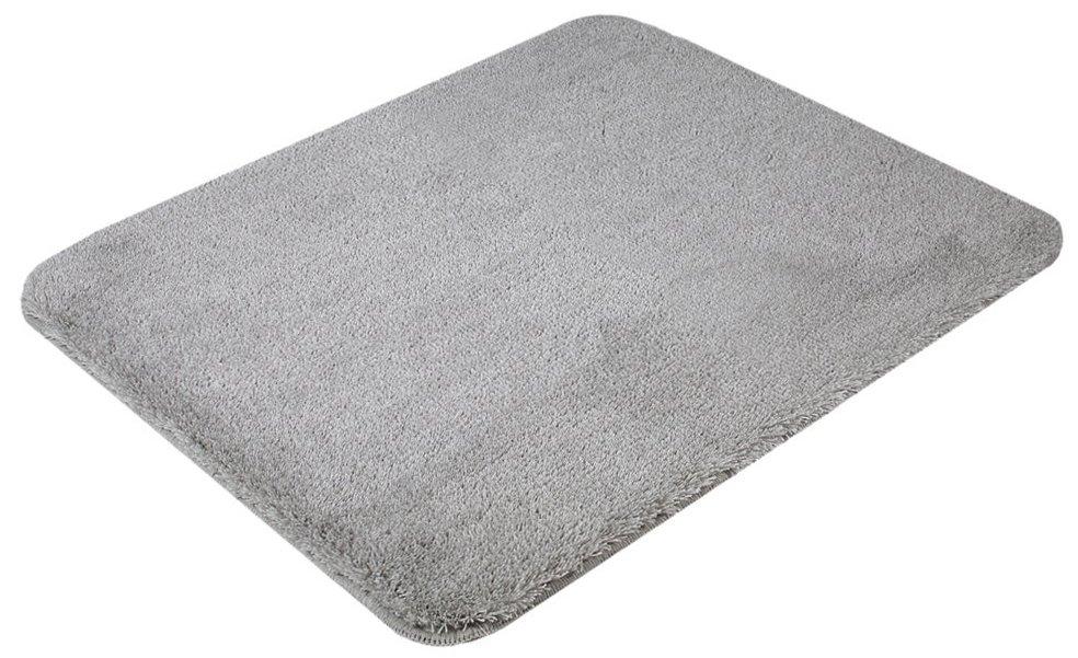 SAPHO - SAVANA predložka 50x60cm s protišmykom, akryl, sivá (SU3-189)