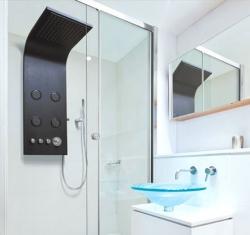 Aquatek - Bahamas Hydromasážní sprchový panel, baterie termostatická (Bahamas-25)