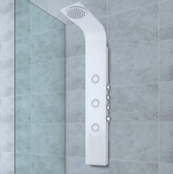 Aquatek - Ibiza Hydromasážní sprchový panel, baterie termostatická (Ibiza-25)