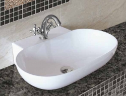 Aquatek - BALA keramické umyvadlo 57x39x12 cm (BALA)