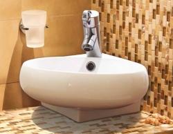Aquatek - GOOT keramické umyvadlo 39,5x37x13,5 cm (GOOT)