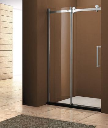 Aquatek - Tekno B2 - Luxusní sprchové dveře zasouvací 121-125 cm, sklo 8mm, výška 210 cm (TEKNOB2125-11)