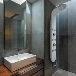 Aquatek - Tobago Hydromasážní sprchový panel, baterie mechanická (Tobago-24)