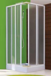 Aquatek - ROYAL A4 Sprchová zástěna čtvercová 80x80cm, plast (ROYALA480)