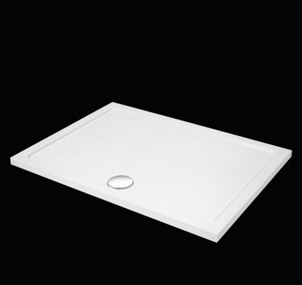Aquatek - SMC 120x80cm sprchová vanička z tvrzeného polymeru (SMC12080)