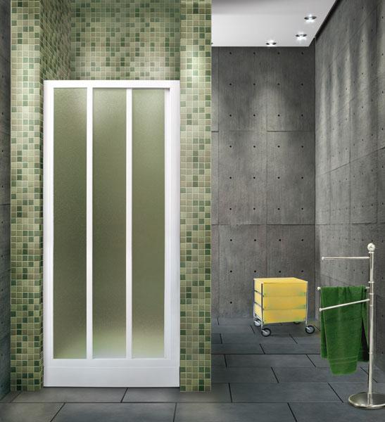 Aquatek - ROYAL B3 - Sprchové dveře zasouvací 110-120cm, výplň sklo - grape (ROYALB3120-19)