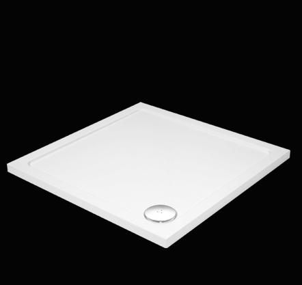 Aquatek - SMC 90x90cm sprchová vanička z tvrzeného polymeru čtvercová (SMC90CTV)