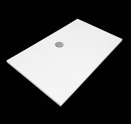 Aquatek - FUSION 120x80 sprchová vanička z litého mramoru obdélníková (FUSION 12080)