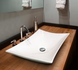 Aquatek - KERR keramické umyvadlo 57,5 x 38,5 x 12,5 cm (KERR)