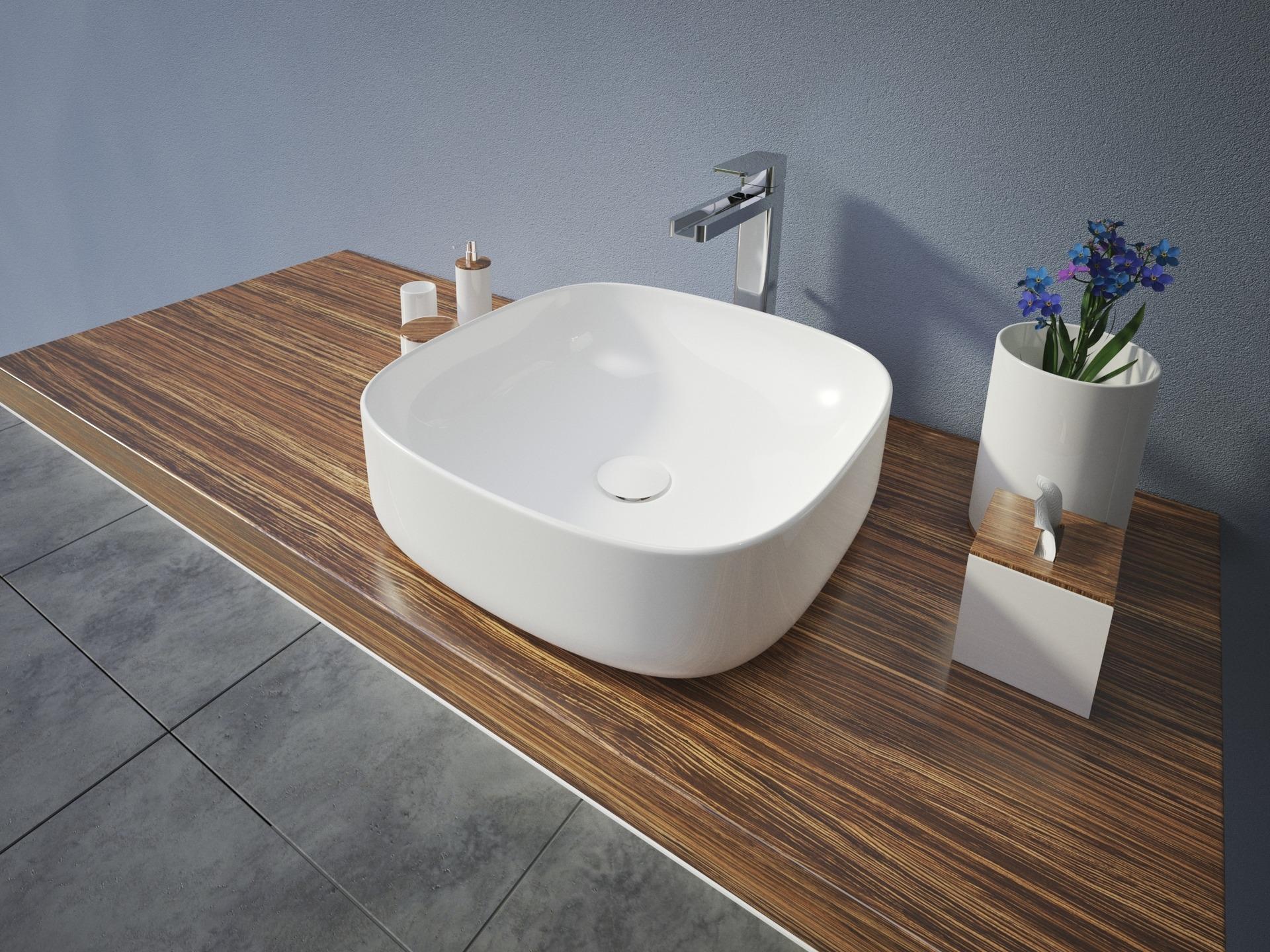 Aquatek Aquatek - OLIVER hranaté keramické umyvadlo se zaoblenými rohy 42,5x42,5x13,5 cm (OLIVER)