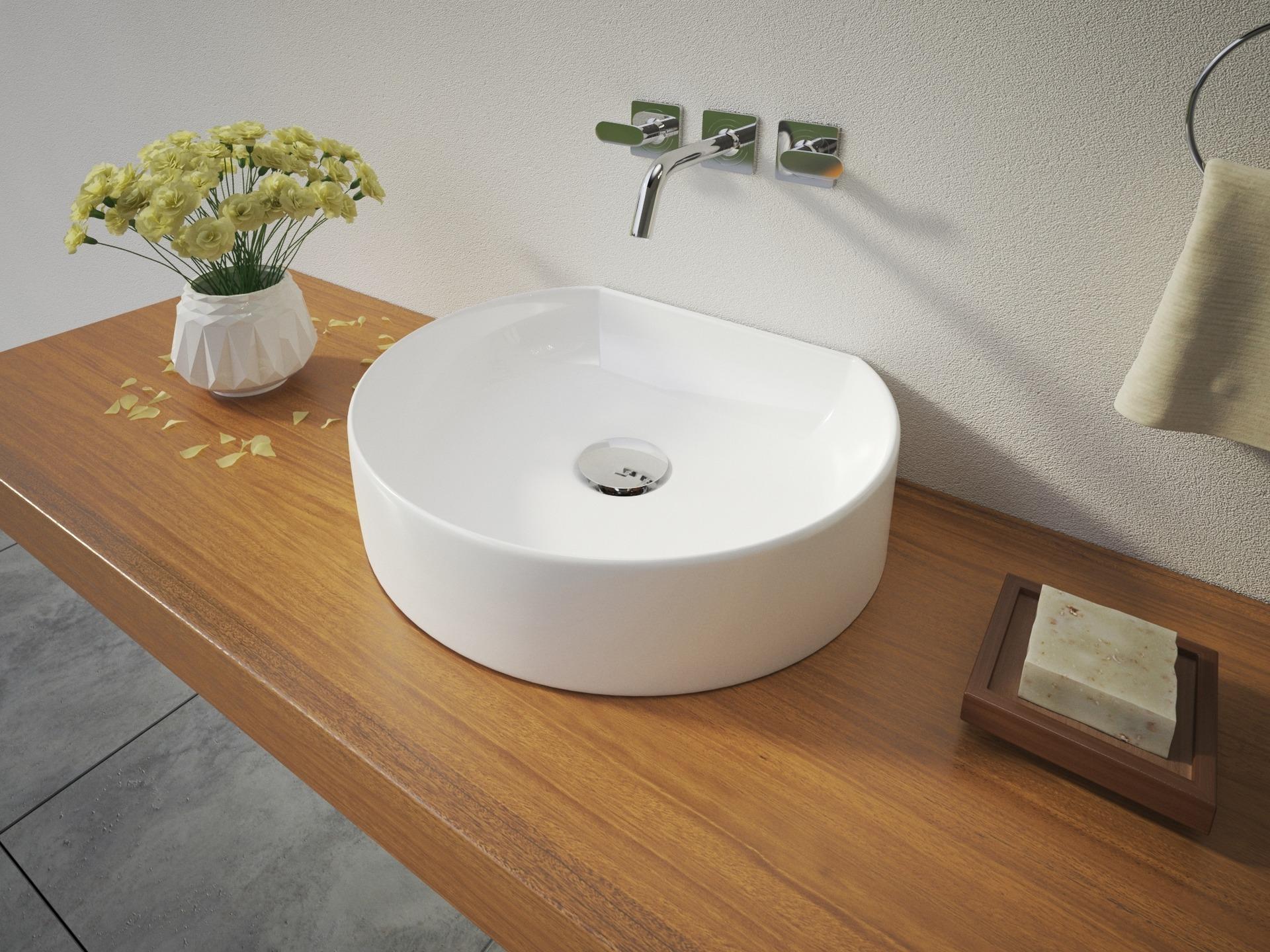 Aquatek Aquatek - REX keramické umyvadlo na desku 40x35x10 cm (REX)