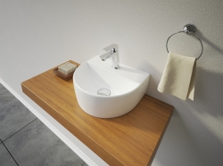 Aquatek - VICTOR keramické umyvadlo na desku 30,5x26x11,5 cm (VICTOR)