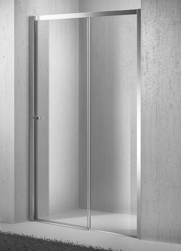H K - Sprchové dveře zasouvací Move D2 126-131cm (MOVED2130)
