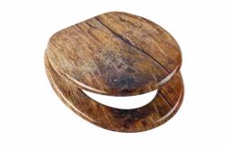 Eisl - Wc sedátko Solid Wood se zpomalovacím mechanismem SOFT-CLOSE (80124SolidWood)