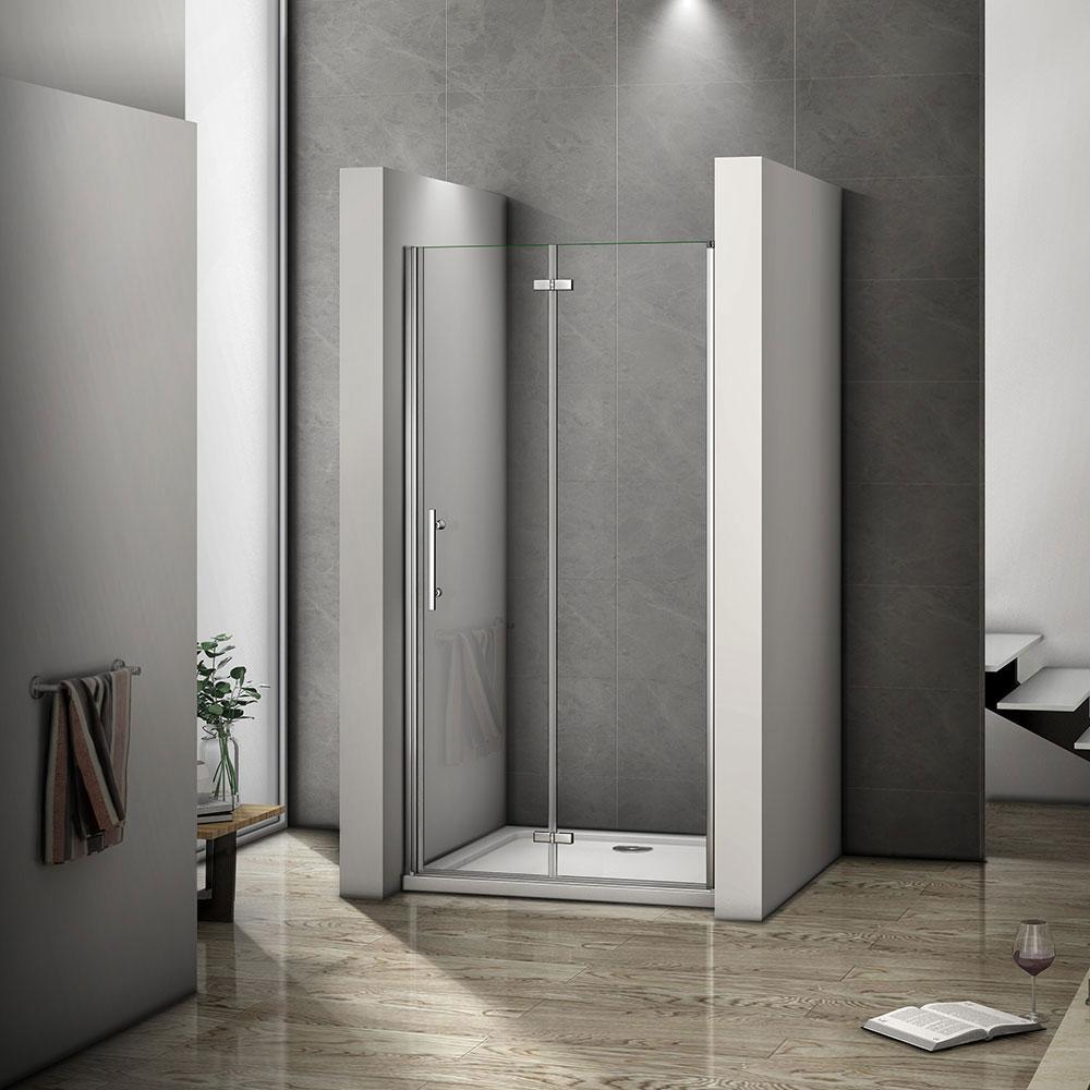 H K - Zalamovací dveře MELODY B8 109-112 x 195 cm (SE- MELODYB8110SET)