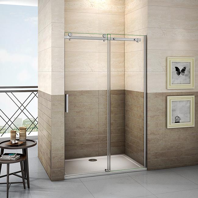 H K - Posuvné sprchové dveře DIAMOND 121- 125x195cm L/P varianta (SE- DIAMOND 125 SET)