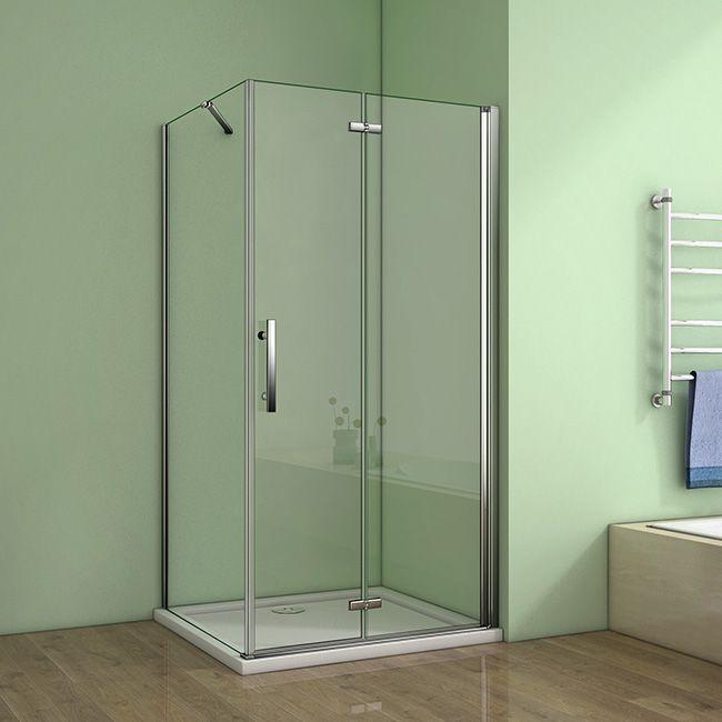 H K - Obdĺžnikový sprchovací kút MELODY 110x80 cm sa zalamovacím dverami SE-MELODYB811080